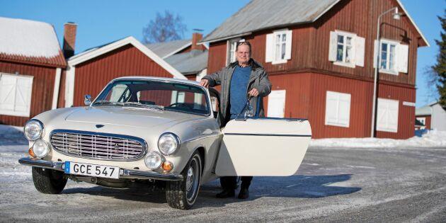 Kolla in Björns renoverade retropärla – Volvo P1800!