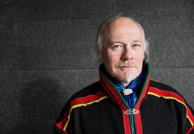 Girjas samebys ordförande, Matti Blind Berg.
