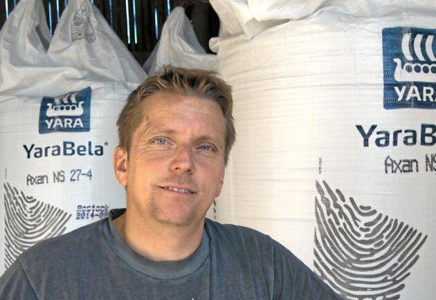 Dag-Henrik Larsson, ordförande för Spannmålsodlarna i Västmanland och Dalarna.