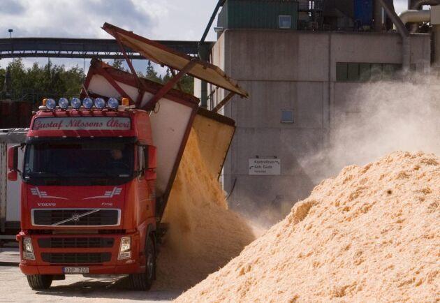 Vattnet som lämnar pelletsfabriken i Härnösand har inte granskats på flera år. Arkivbild.