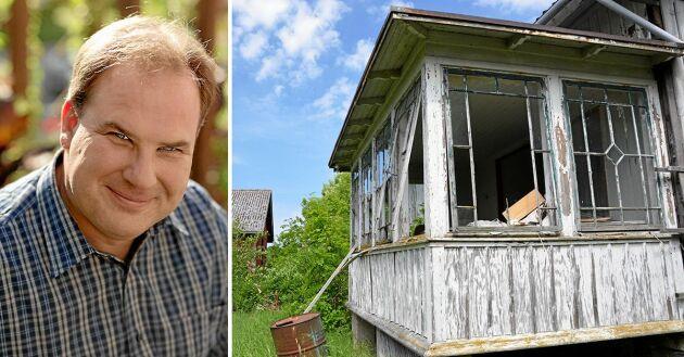 Upprustning av ödehus är spännande projekt som bidrar till en vitalisering av landsbygden. Om det handlar Robert Danielssons fina bok med åtta exempel på människor som lyckats.