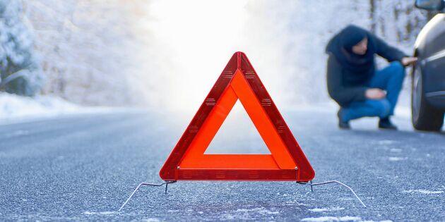 Polisens varning: Byt inte till sommardäck