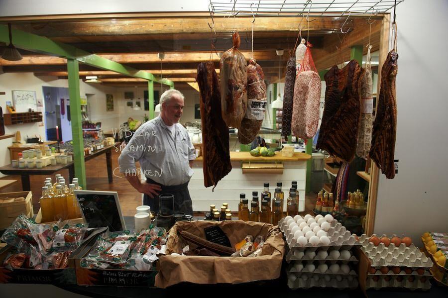 KYLRUMMET Delikatesser från små producenter både i trakten och från Sydeuropa.