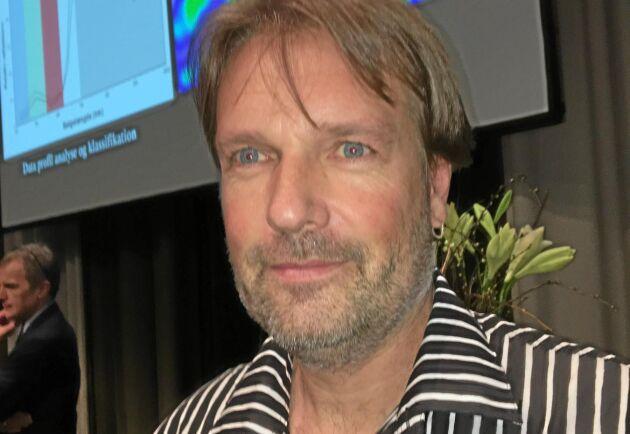 Christian Nansen, University Davis, Kalifornien, deltog på Plantekongres 2018.