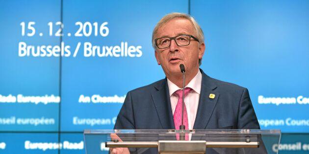 Inget krisbesked i Junckers sista linjetal