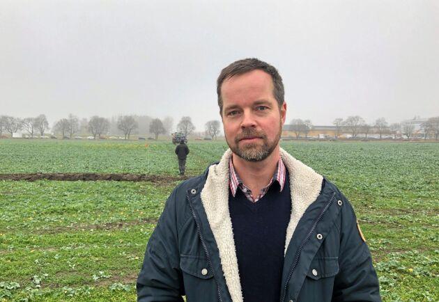 Eldrift väntas inte minst bli en viktig ingrediens i det fossilfria lantbruket för att få ner produktionskostnaderna och öka precisionen i odlingen. Tack vare att elmotorerna har fullt vridmoment från start är de enklare att styra med stor precision över fältet, förklarar Jonas Engström på Rise.