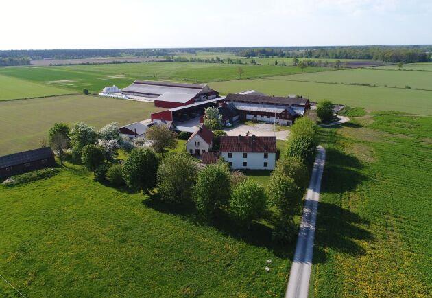 Gårdens totalareal är 298,1 hektar och boyta är 131 kvadratmeter.