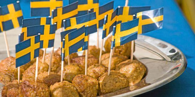 Allt mer svenskt kött på tallriken