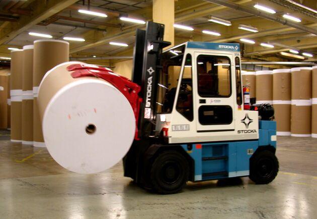 Papper fortsätter att vara svensk skogsindustris viktigaste exportvara och står för cirka 60 procent av värdet.