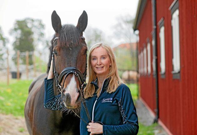 Agnes Fabricius, VD På Agria Djurförsäkring.