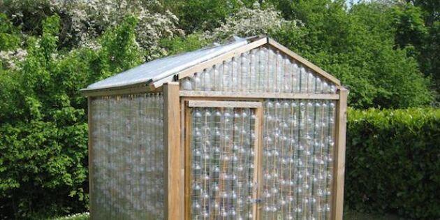Bygg ett växthus med återbrukade PET-flaskor