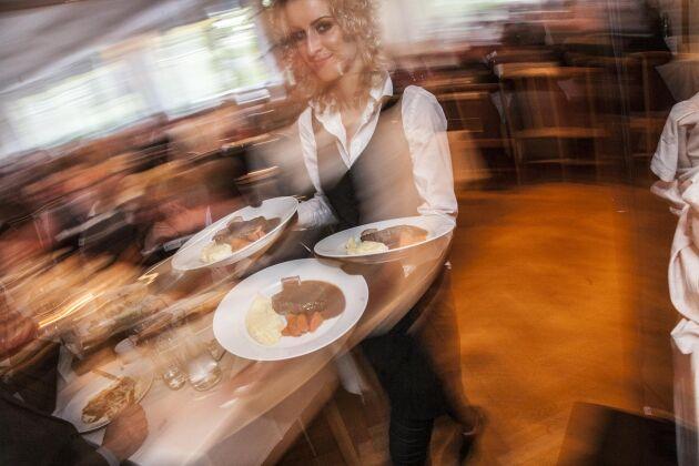 LRF:s restaurangverksamhet har en förlusttyngd tid bakom sig. Det gör framtiden osäker.