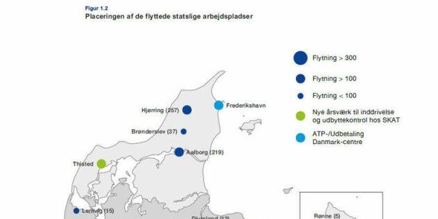 Nu visar Danmark vägen för utlokalisering av jobb från Stockholm