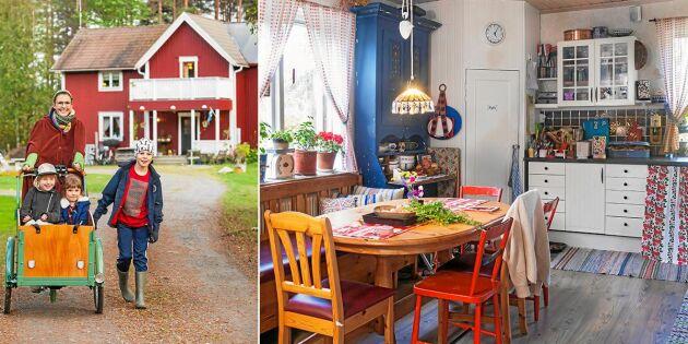 Spana in familjen Markséns färgglada torp – inspirerat av Astrid Lindgren