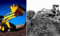 Bilder: 65 år av traktorgrävare från JCB