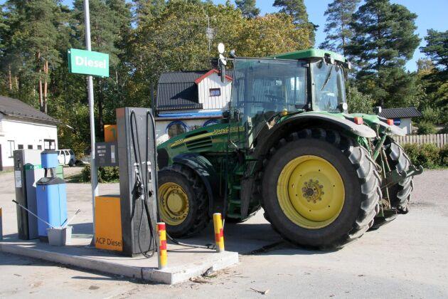 Mackpriset på biodiesel har i Tyskland fallit under priset på landets lågskattade agrardiesel.