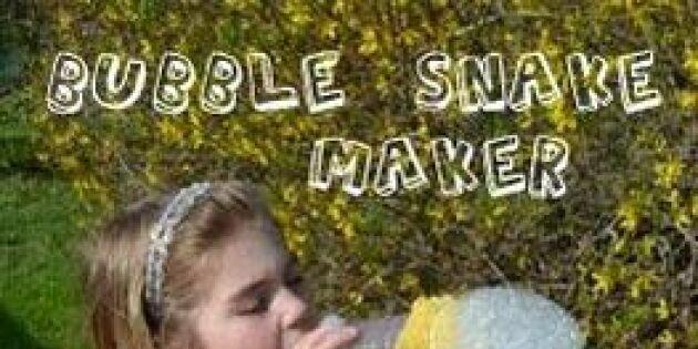 Varför blåsa bubblor när man kan blåsa bubbelormar?