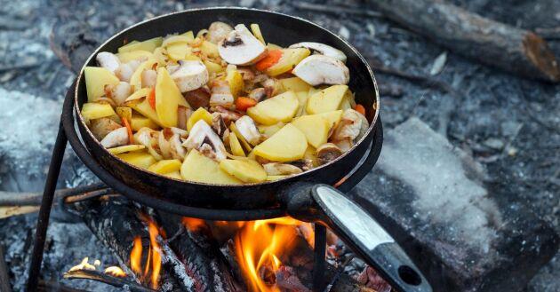 potatis, svamp och grönsaker – svårare än så behöver det inte vara för att få till himmelska smaker.
