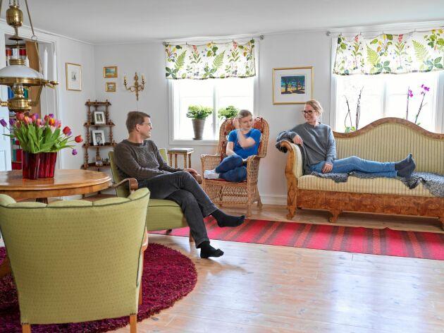 I dag är huset i fint skick men renoveringen var så jobbig att Ulf och Karin i dag skojar om att den nästan kostade dem äktenskapet.