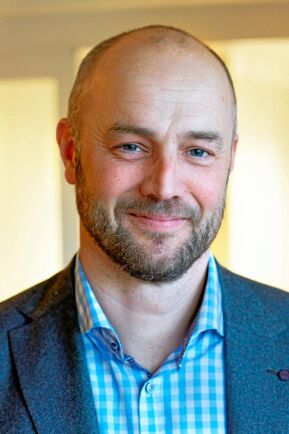 Mattias Forsberg, produktionschef i Sveaskogs marknadsområde Syd.