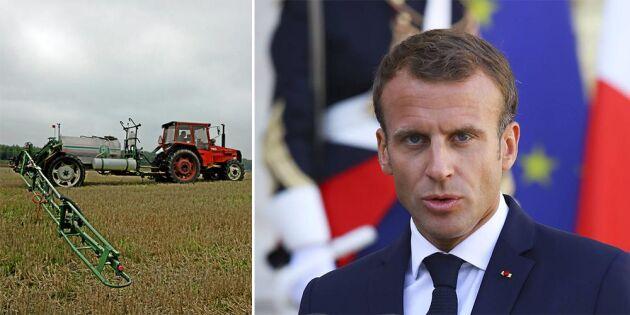 Stopp för Frankrikes glyfosatförbud