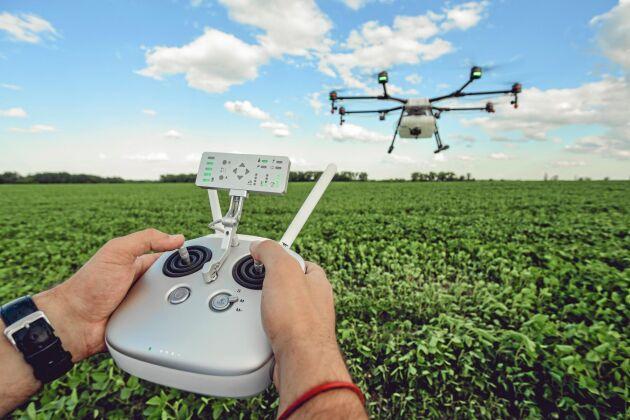 Digitaliseringen innebär enorma möjligheter för det framtida jordbruket.