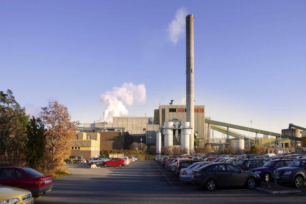 Bravikens pappersbruk utanför Norrköping är ett av Holmens bruk.
