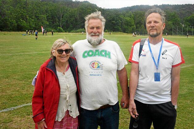 Barbro Hultgren, Lars-Erik Hultgren och Per Svensson är veteraner på Gothia Cup och de har gjort att hela samhället Torna Hällestad har engagerat sig i turneringen.