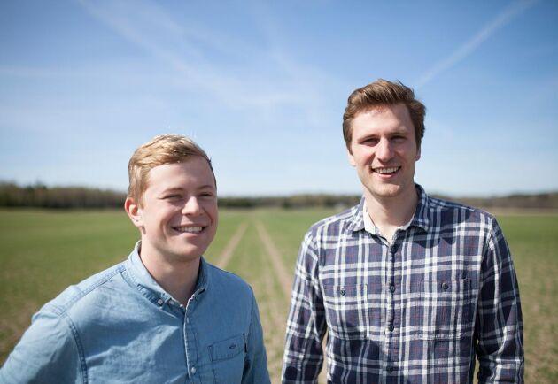 Joel Glemne och Niklas Ericson, grundare av Skira.