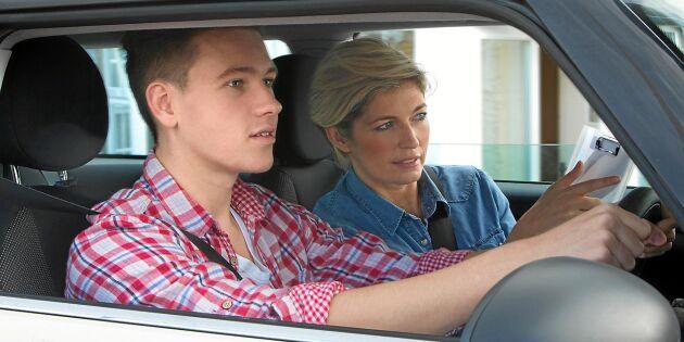 Nu ska fler klara körkortsproven – förarutbildningen ses över