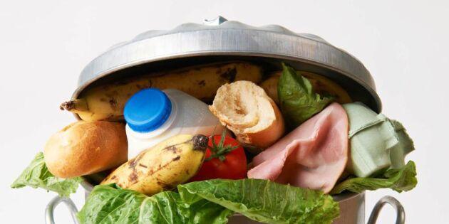 Så mycket mat slänger vi – matsvinn i siffror