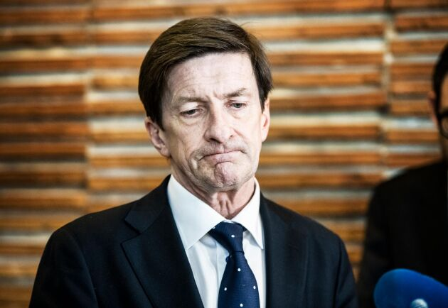 Swedbanks förre ordförande Lars Idermark. Arkivbild.