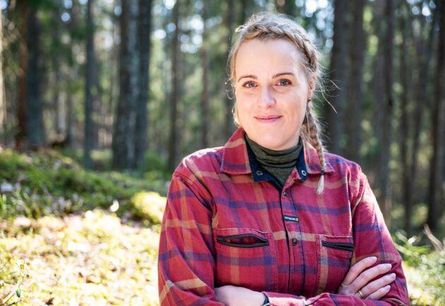 """""""Det är väldigt viktigt att vi gör den här studien för djuren, slakterierna och konsumenterna"""", säger Josefine Jerlström."""