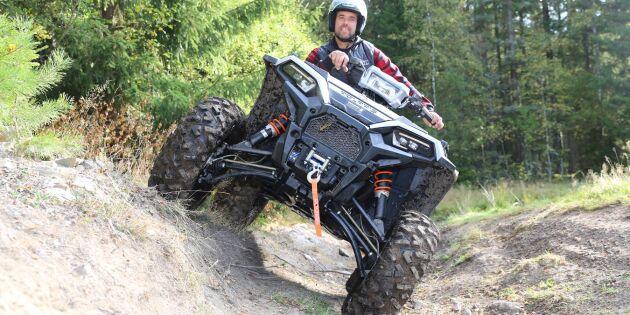 Imponerande balans i Polaris nya ATV