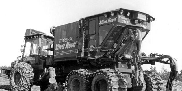 Revolutionerande för branschen – Sveaskog dammar av planteringsmaskin