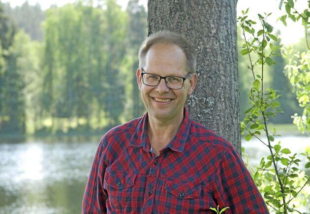 Leif Öster, skogsägare.