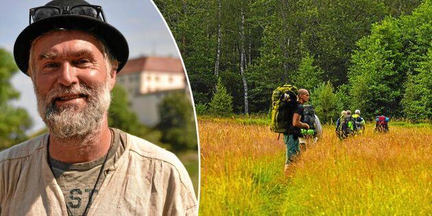 Lars pilgrimsvandrar för att få tystnad – och en paus i vardagen