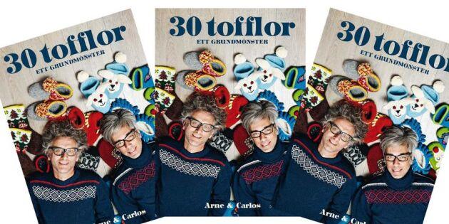 """AVSLUTAD: Vinn boken """"30 tofflor"""""""