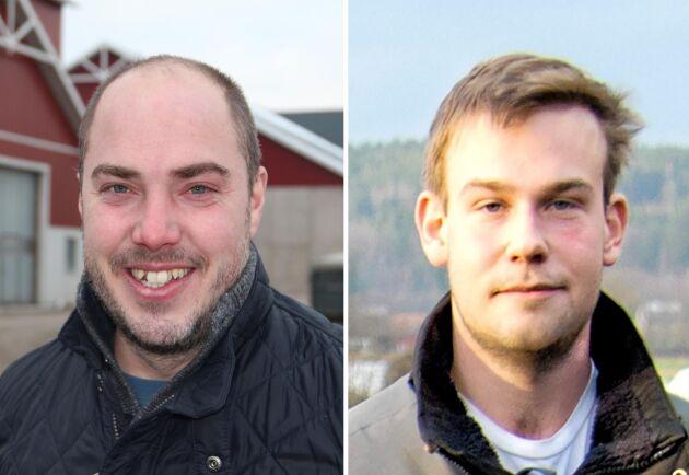Lantbrukarna Emil Olsson och Adam Arnesson har tillsammans med Food for Progress och Coop tagit fram snabbmatsprodukter baserade på gula ärtor.