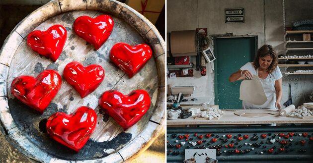 Dop, bröllop, begravning, till en vän eller någon du håller kär. Hjärtfabrikens hjärtan passar när du vill förmedla uppskattning.