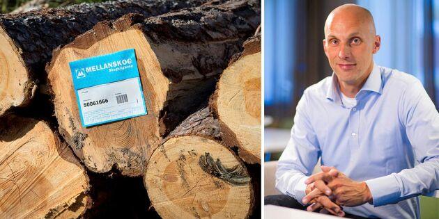 Kraftigt förbättrat resultat för Mellanskog