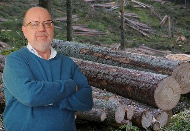 Land Skogsbruks ledarskribent Knut Persson.