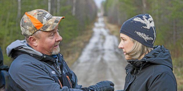 Het diskussion om nyckelbiotoper när Skog var i skog