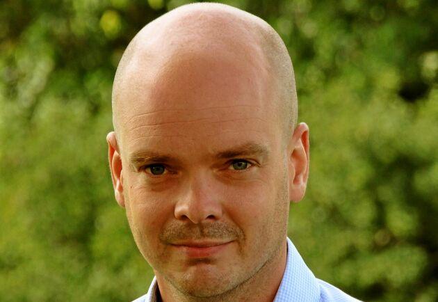 Daniel Ligné, riksjaktvårdskonsulent på Svenska Jägareförbundet.