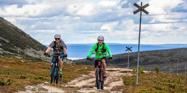 Satsning på MBT-cykelleder ska locka turister till Sverige