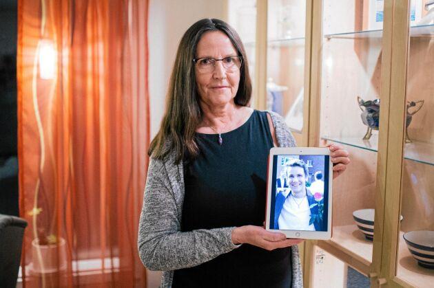Ljusa minnen I dag vårdar Ingrid minnet av sin son Marcus, som var en levnadsglad och positiv person.