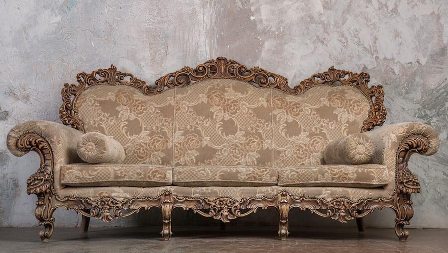 Gammal soffa