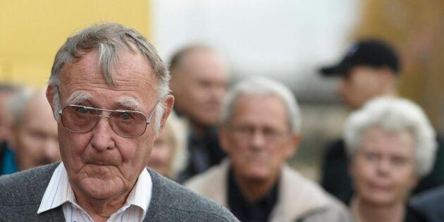 Stor sorg efter Kamprads bortgång