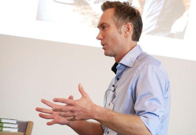 Enligt Joakim Mattson, VD på Lely Sverige, är djurskötarens roll viktigare än någonsin.