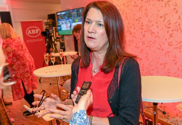 Utrikeshandelsminister Ann Linde (S). Arkivbild.